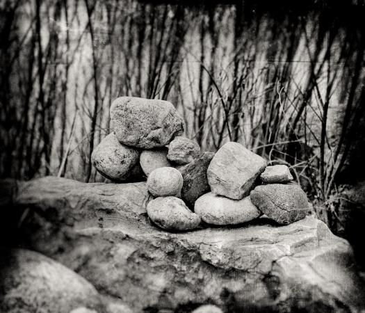 100 days...rocks